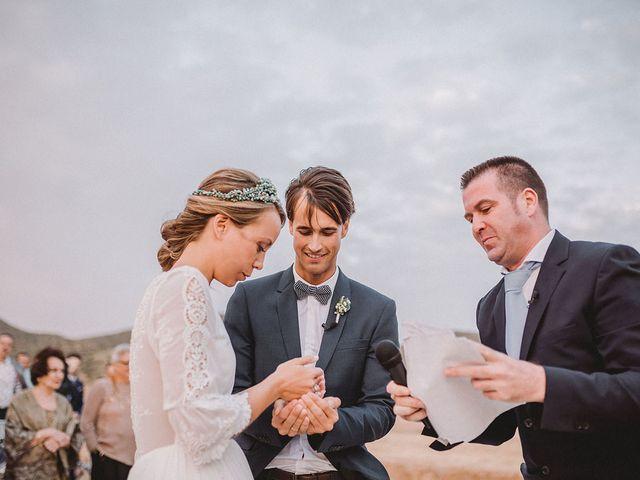 La boda de Eduardo y Elisabeth en El Cabo De Gata, Almería 71