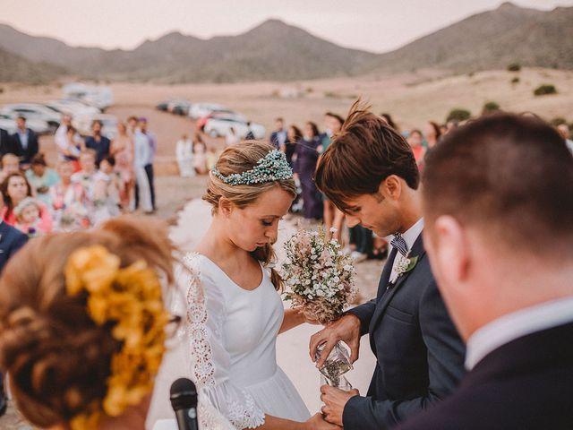 La boda de Eduardo y Elisabeth en El Cabo De Gata, Almería 73
