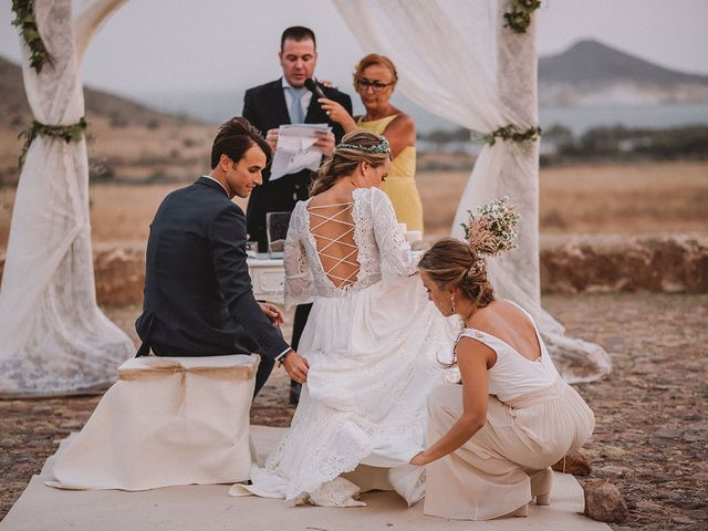 La boda de Eduardo y Elisabeth en El Cabo De Gata, Almería 74