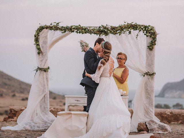 La boda de Eduardo y Elisabeth en El Cabo De Gata, Almería 75