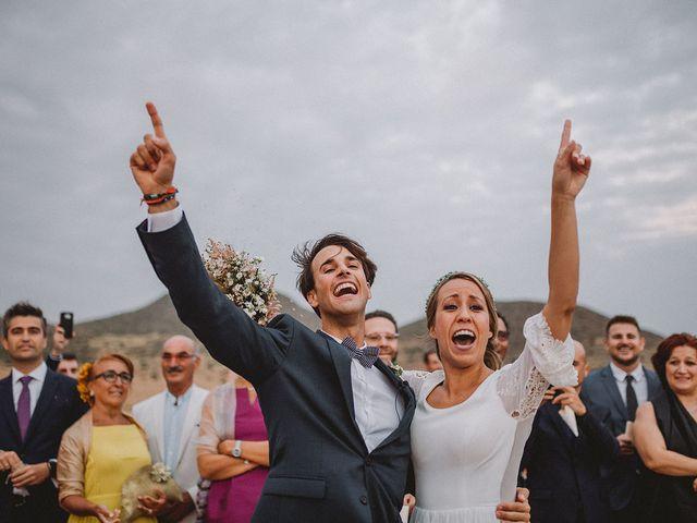 La boda de Eduardo y Elisabeth en El Cabo De Gata, Almería 83