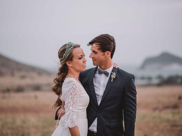 La boda de Eduardo y Elisabeth en El Cabo De Gata, Almería 87