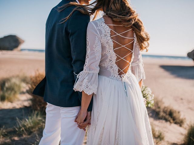 La boda de Eduardo y Elisabeth en El Cabo De Gata, Almería 120
