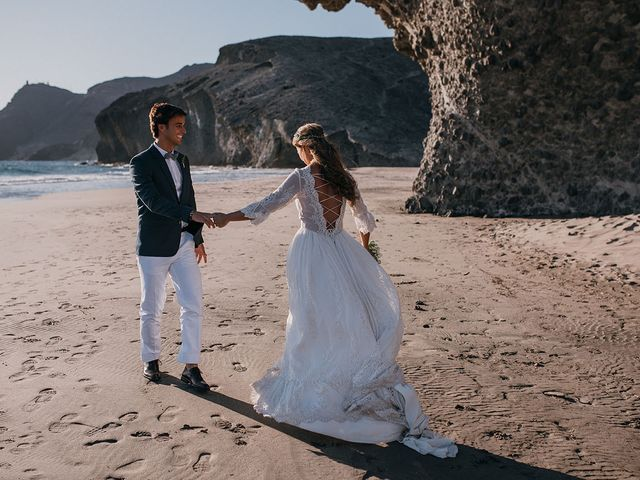 La boda de Eduardo y Elisabeth en El Cabo De Gata, Almería 127