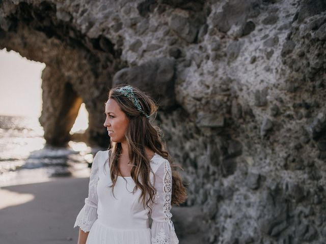 La boda de Eduardo y Elisabeth en El Cabo De Gata, Almería 139