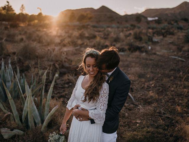 La boda de Eduardo y Elisabeth en El Cabo De Gata, Almería 160