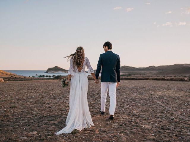 La boda de Eduardo y Elisabeth en El Cabo De Gata, Almería 161