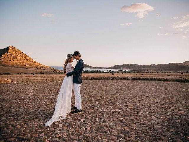 La boda de Eduardo y Elisabeth en El Cabo De Gata, Almería 162