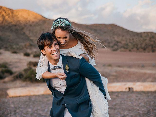 La boda de Eduardo y Elisabeth en El Cabo De Gata, Almería 163