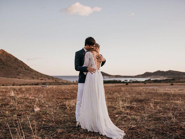 La boda de Eduardo y Elisabeth en El Cabo De Gata, Almería 170