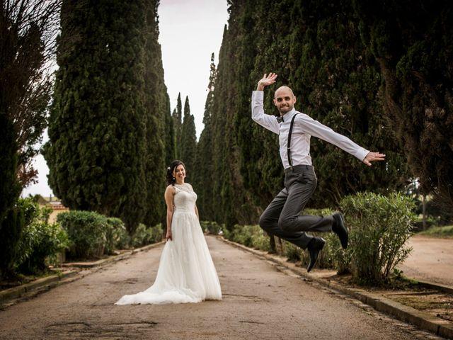 La boda de Marco y Aracely en L' Ametlla Del Valles, Barcelona 1