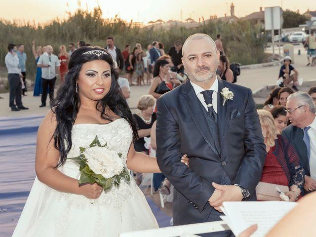 La boda de Btissam y Carlos