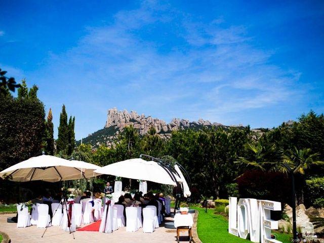 La boda de Diego y Wendy  en El Bruc, Barcelona 2