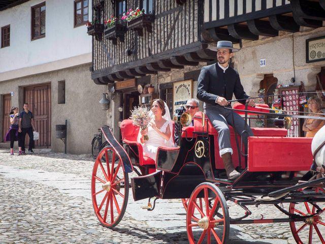La boda de Javi y Elena en La Alberca, Salamanca 2