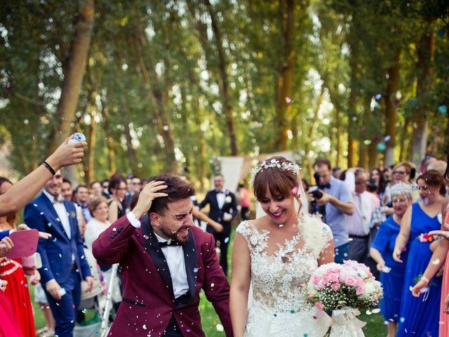 La boda de Alfredo y Lucía en Saelices, Cuenca 44