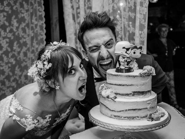 La boda de Alfredo y Lucía en Saelices, Cuenca 71