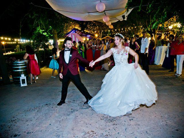 La boda de Alfredo y Lucía en Saelices, Cuenca 79