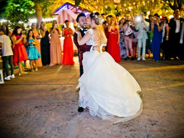 La boda de Alfredo y Lucía en Saelices, Cuenca 80