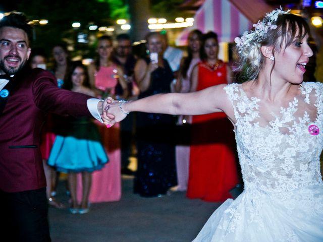 La boda de Alfredo y Lucía en Saelices, Cuenca 81
