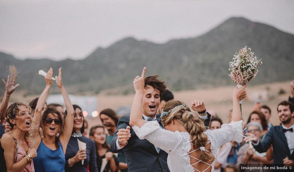 La boda de Eduardo y Elisabeth en El Cabo De Gata, Almería