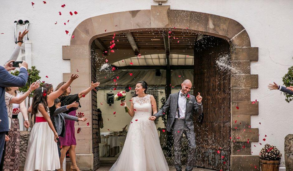 La boda de Marco y Aracely en L' Ametlla Del Valles, Barcelona