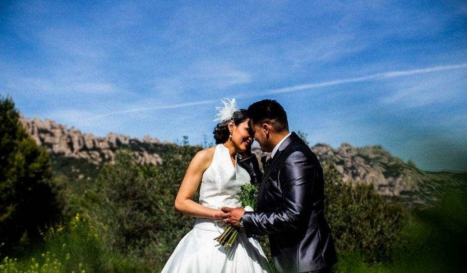 La boda de Diego y Wendy  en El Bruc, Barcelona