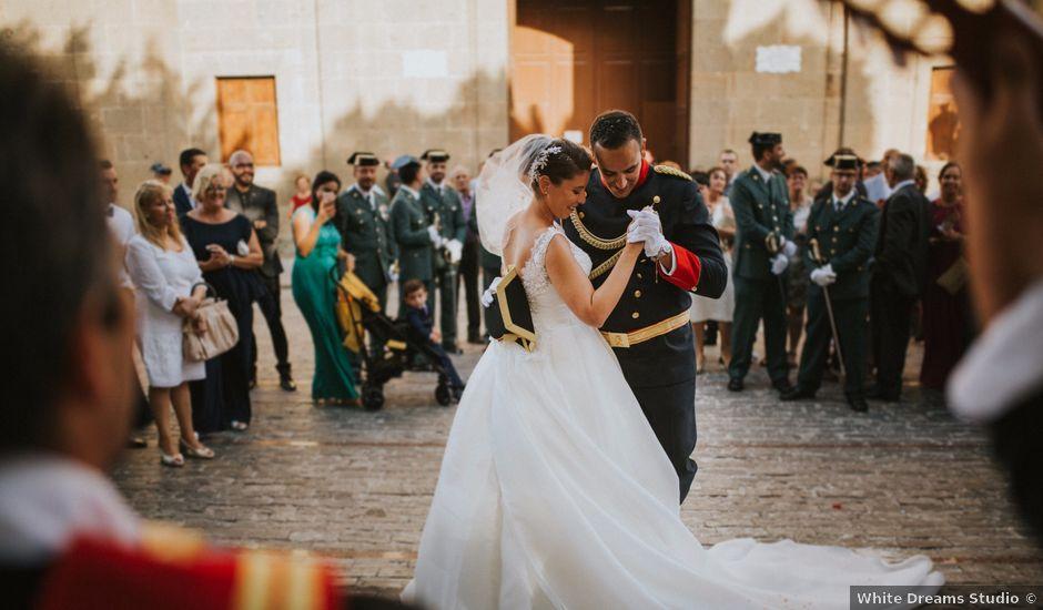 La boda de Sandro y Saray en Aguimes, Las Palmas