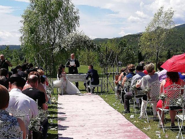 La boda de Javi  y Lorena  en Santa Coloma De Farners, Girona 2