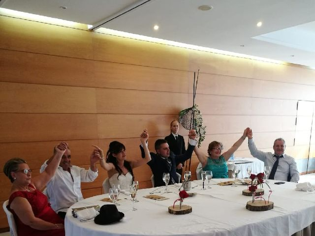 La boda de Javi  y Lorena  en Santa Coloma De Farners, Girona 8