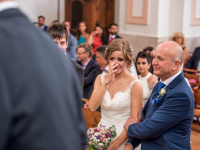 La boda de Carlos y Ariadna en Olmedo, Valladolid 33