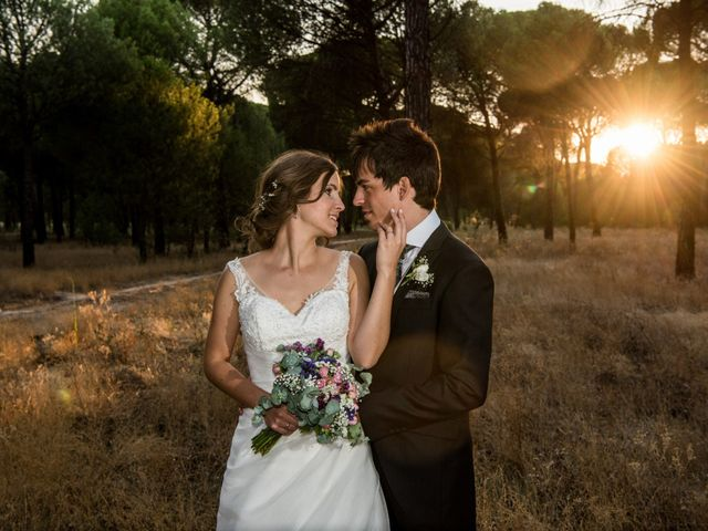 La boda de Carlos y Ariadna en Olmedo, Valladolid 55