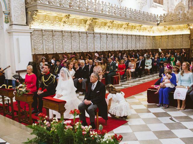 La boda de David y Mª Paz en Granada, Granada 13