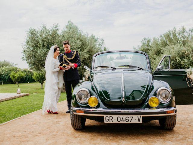 La boda de David y Mª Paz en Granada, Granada 17