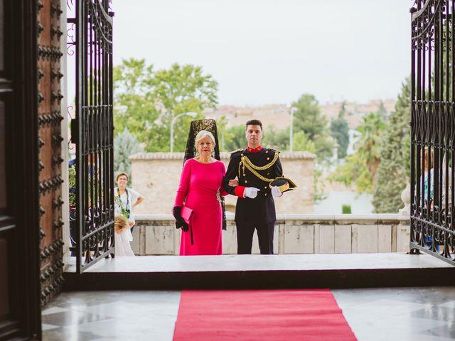 La boda de David y Mª Paz en Granada, Granada 39