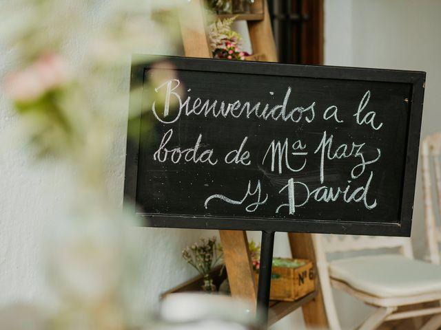 La boda de David y Mª Paz en Granada, Granada 42