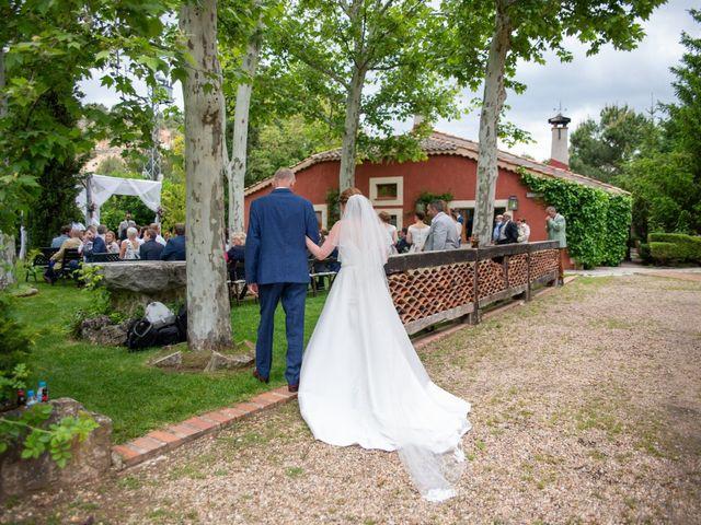 La boda de Abilio y Alexa en Requijada, Segovia 15