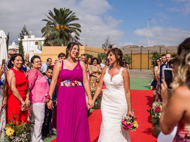 La boda de Miguel  y Bárbara en Santa Maria De Guia, Las Palmas 1