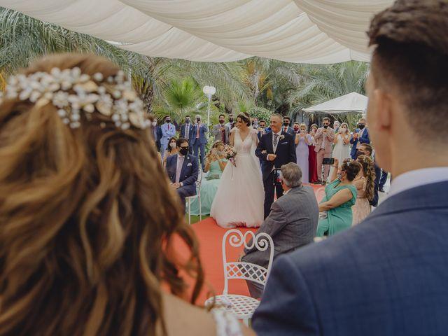 La boda de Fernando y Abigail en Velez Malaga, Málaga 61