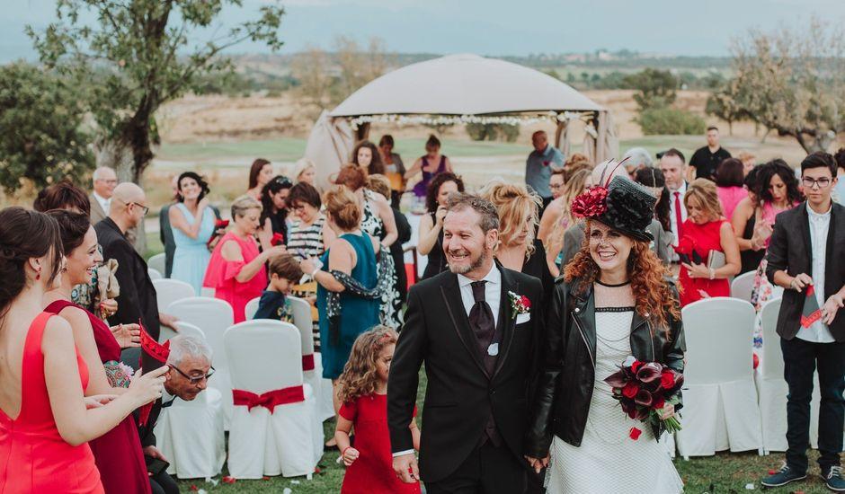 La boda de Luis  y Julia  en Talayuela, Cáceres