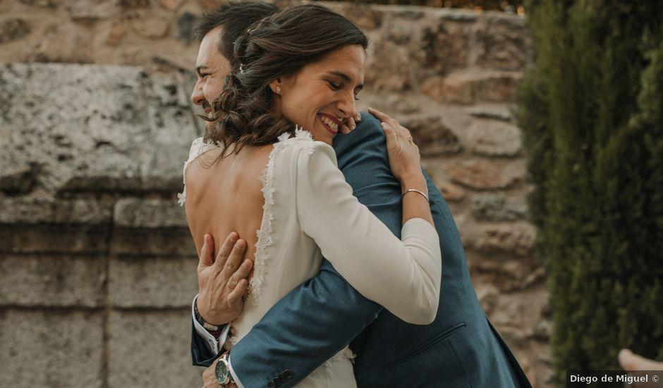 La boda de Miguel y Pilar en San Ildefonso O La Granja, Segovia