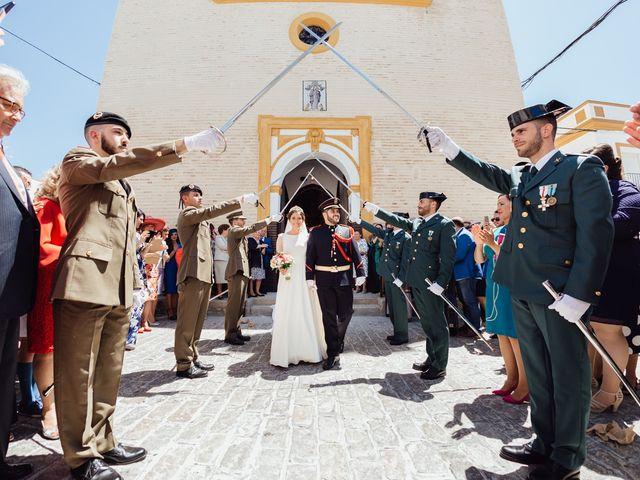 La boda de Fran y Marta en La Puebla Del Rio, Sevilla 52