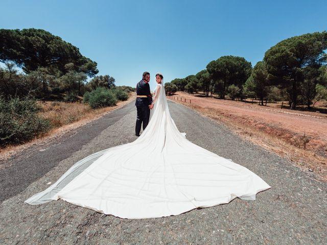 La boda de Fran y Marta en La Puebla Del Rio, Sevilla 67