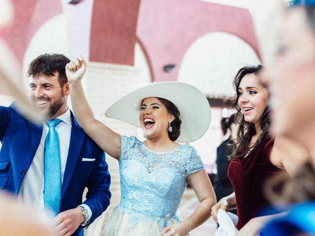 La boda de Fran y Marta en La Puebla Del Rio, Sevilla 78