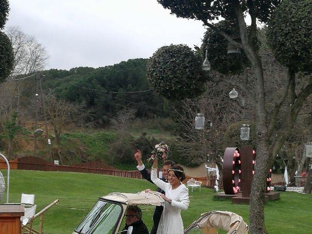 La boda de Oscar  y Marta  en Sant Fost De Campsentelles, Barcelona 15