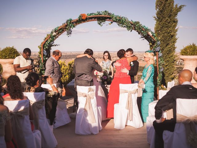 La boda de Jesús y Gretell en San Agustin De Guadalix, Madrid 82