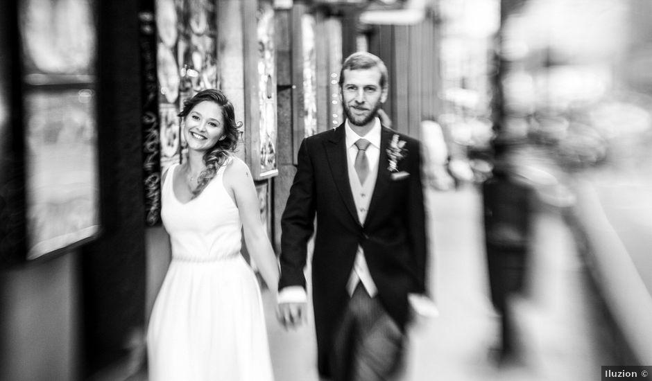 La boda de Daniel y Amanda en Madrid, Madrid