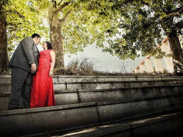 La boda de Fran y Virtu en Illescas, Toledo 21