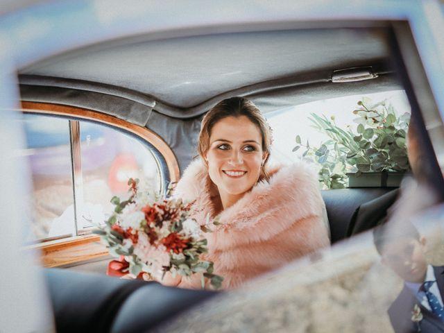 La boda de Diego y Beatriz en Almazan, Soria 1
