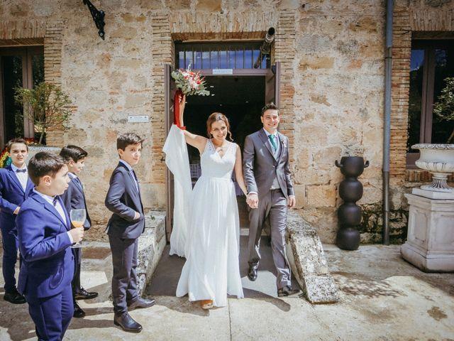 La boda de Diego y Beatriz en Almazan, Soria 13