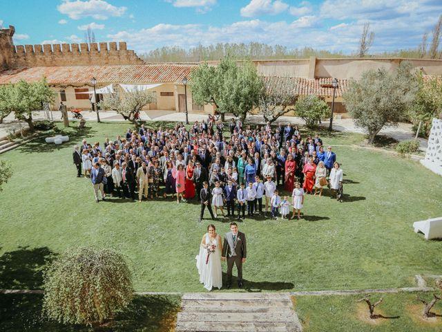 La boda de Diego y Beatriz en Almazan, Soria 14